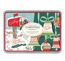 Cavallini Mailing Set Vintage Christmas