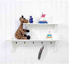 Oliver Furniture Broad Shelf White