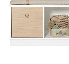 Oliver Furniture Wood Sockel für Regal 3x1 / 3x2