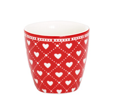 GreenGate Egg cup Haven Red