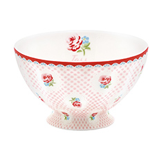 GreenGate French Bowl Medium Tammie Pale Pink
