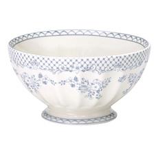GreenGate French Bowl XL Stephanie Dusty Blue