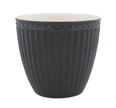 GreenGate Latte Cup Alice Dark Grey
