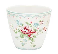 GreenGate Latte Cup Abelone White