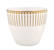 Gate Noir by GreenGate Latte Cup Dawn Gold