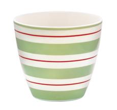 GreenGate Latte Cup Becher Elinor Green