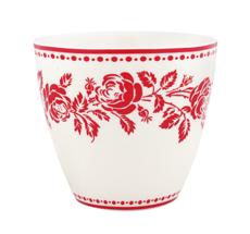 GreenGate Latte Cup Fleur Red