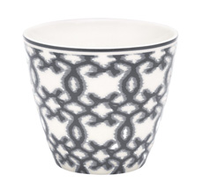 GreenGate Latte Cup Karma Dark Grey