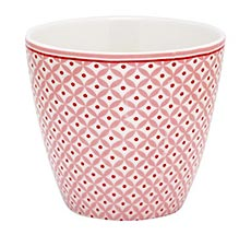 GreenGate Latte Cup Becher Noa Raspberry
