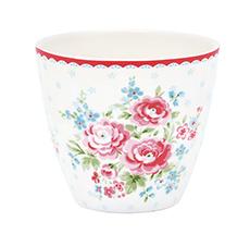 GreenGate Latte Cup Becher Tess White