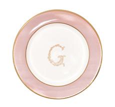 "GreenGate Kleiner Teller ""G"" Pale Pink"