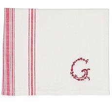 GreenGate Tischdecke G Raspberry 145x250 cm