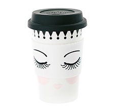 "Miss Étoile Becher To-Go ""Eyes and Dots"" 0,5 L"