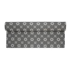 Krasilnikoff Tischläufer Charcoal Diagonal