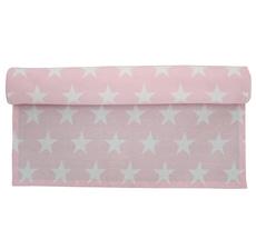 Krasilnikoff Tischläufer Star Pink