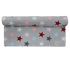 Krasilnikoff Tischläufer Star Multi Grey