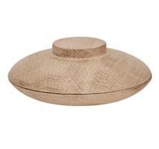 Kristina Dam Studio Aufbewahrungsgefäß Wooden Galaxy Solid Oak