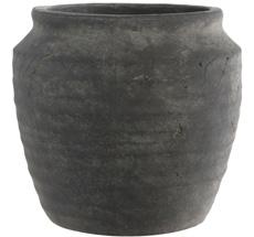 IB LAURSEN Übertopf/Gefäß Athen gerillt 16 cm