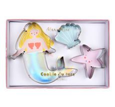 Meri Meri Ausstechformen Meerjungfrau 3er-Set