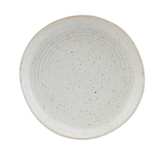 House Doctor Teller Pion Grau/ Weiß 16,5 cm