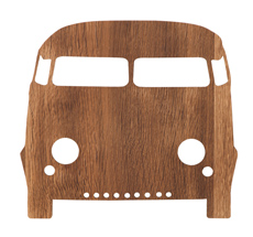 ferm LIVING Wandlampe Car/Bus Smoked Oak