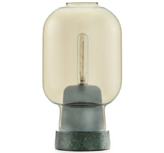 Normann Copenhagen Amp Tischlampe Gold/Green