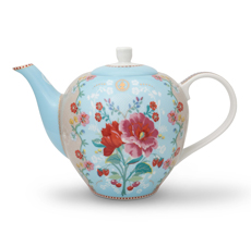PIP Studio Teekanne Rose Blue 1,6 l •