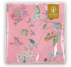 PIP Studio Papier-Servietten Hummingbirds Pink