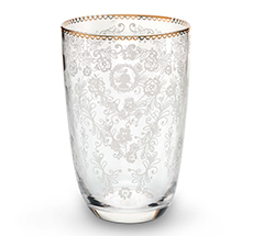 PIP Studio Longdrink-Glas Floral Clear