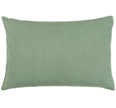 IB LAURSEN Kissenbezug Grün 60 x 40 cm