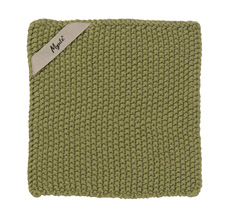 IB LAURSEN Topflappen Mynte Herbal Green gestrickt