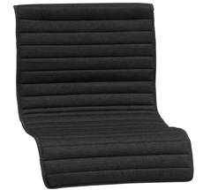 FDB Møbler M14 Sitzkissen Lounge Chair Anthrazit Grau