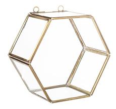 Bloomingville Glas-Box Brass