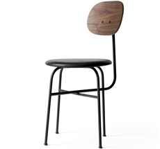 Menu Afteroom Stuhl Plus Black/Walnut/Shade