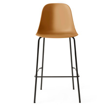 Menu Harbour Side Barstuhl Black Steel Base/Khaki Shell