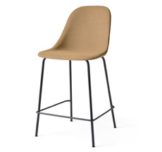 Menu Harbour Stuhl Side Counter Chair Black Steel Base/Hot Madison