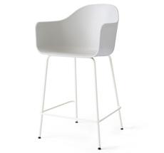 Menu Harbour Stuhl Counter Chair Light Grey Steel Base/Light Grey