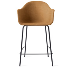 Menu Harbour Stuhl Counter Chair Black Steel Base/Hot Madison