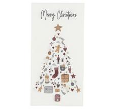 IB LAURSEN Papierserviette Merry Christmas Tannenbaum 16 Stk