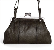 Sticks and Stones Ledertasche Toulouse Dark Khaki Washed
