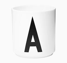 Design Letters Porzellan Becher A