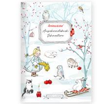 krima & isa Ausschneidebuch Schneetiere