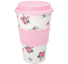GreenGate Travel Mug Becher Constance White