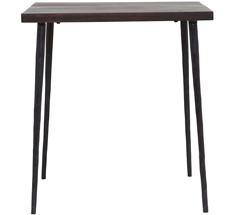 House Doctor Tisch Slated Schwarz Gesprenkelt •