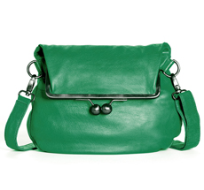 Sticks and Stones Ledertasche Cannes Cactus Green Washed