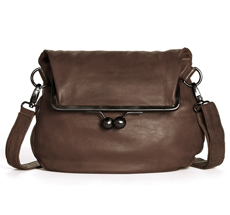 f05bd9d15aa8c Sticks and Stones Ledertasche Cannes Mocca Washed