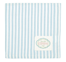 GreenGate Stoffserviette Alice Stripe Pale Blue