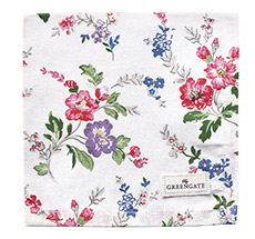 GreenGate Stoffserviette Isobel White •