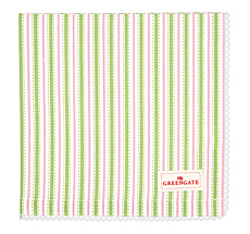 GreenGate Stoffserviette mit Spitze Sari White