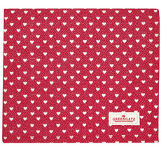 GreenGate Tischdecke Penny Red 130x170cm